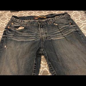 Men's 38 Big Star Pioneer regular bootcut jeans